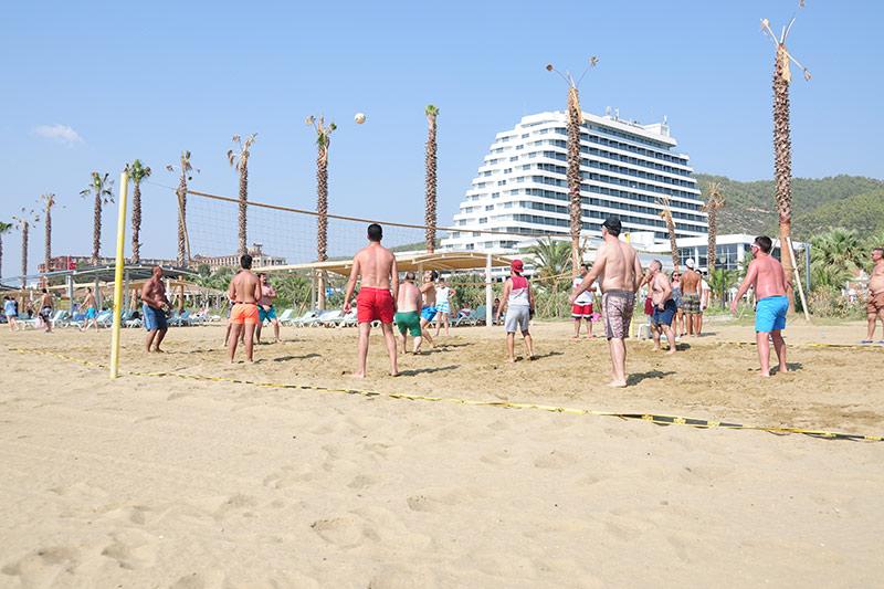 Palm Wings Ephesus Beach Resort 5* - pláž