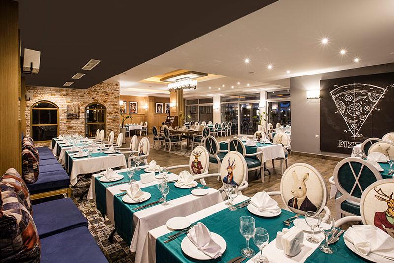 Palm Wings Ephesus Beach Resort 5* - reštaurácia
