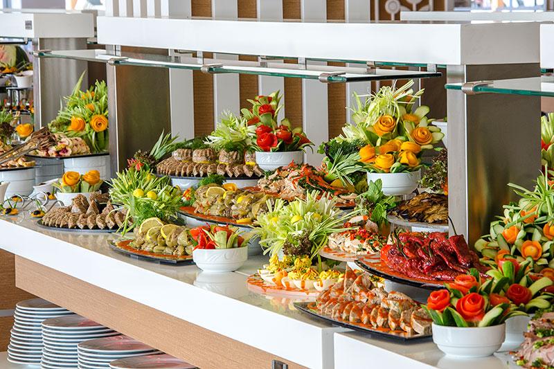 Palm Wings Beach Resort & SPA 5* - reštaurácia