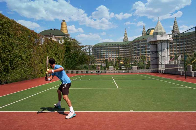 Delphin Imperial Lara 5* - tenisový kurt