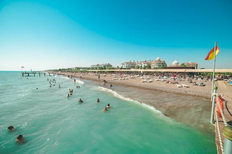 Kirman Belazur 5* - pláž