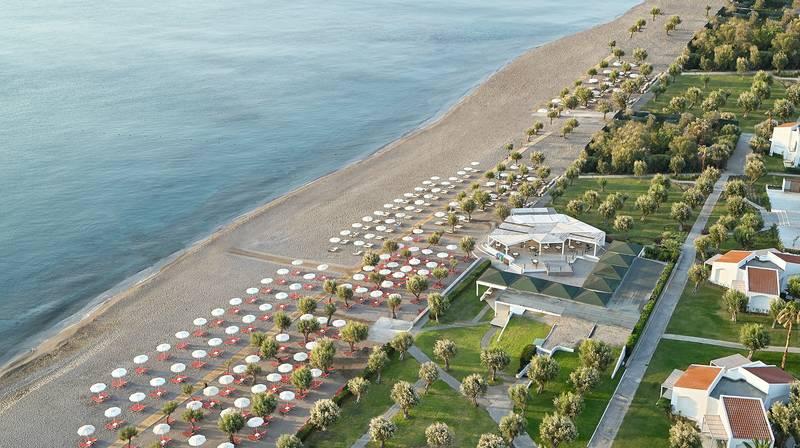 Grecotel Lux Me Rhodos 4* - pláž