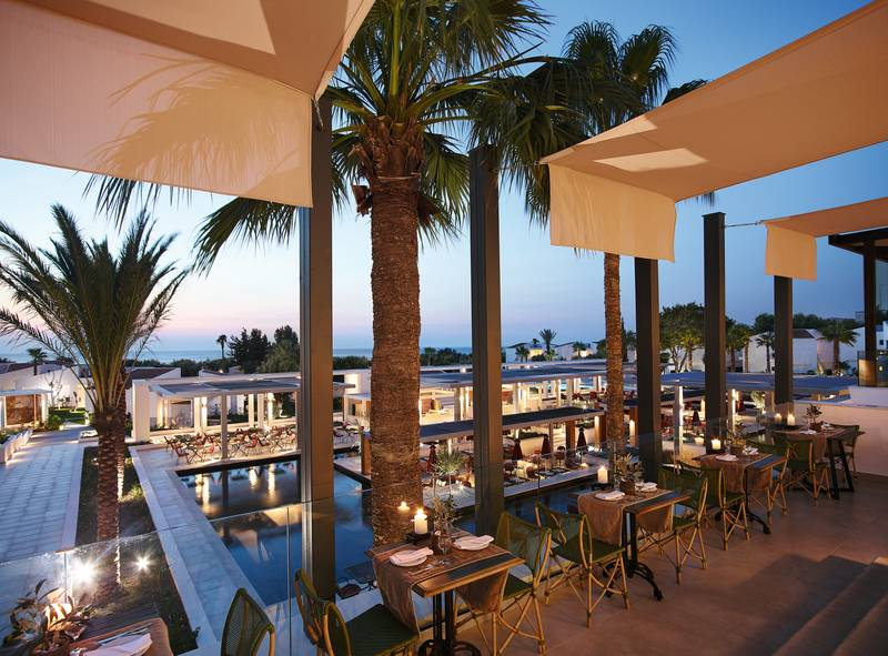Grecotel Lux Me Rhodos 4* - reštaurácia