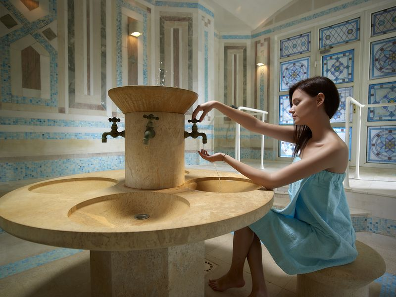 Royal Mare Luxury & Thalasso 5* - spa centrum