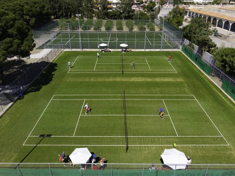 Apollo Beach Hotel 5* - tenisové kurty