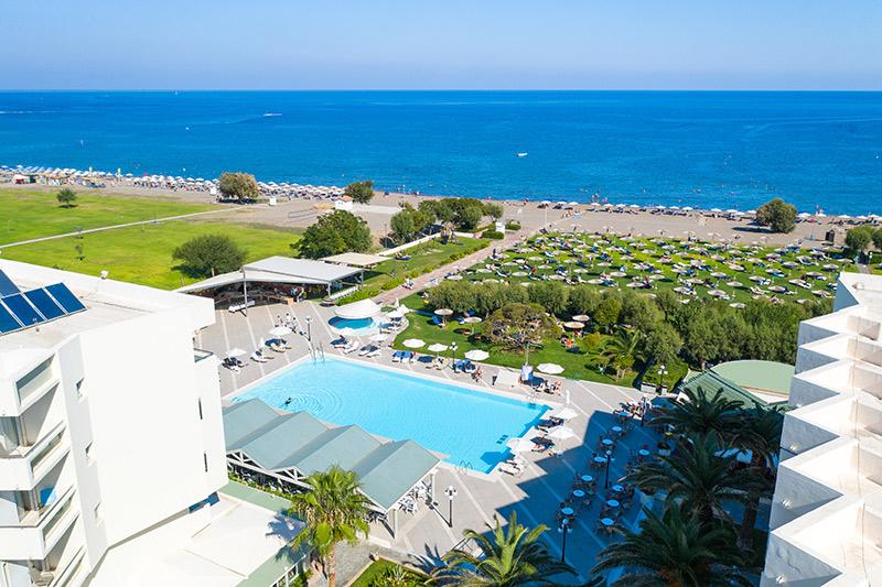 hotel Amilia Mare, Rodos, Grécko