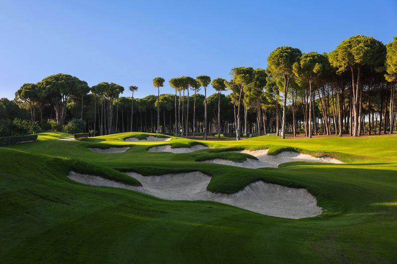 Regnum Carya Golf & SPA Resort 5* - golfové ihrisko