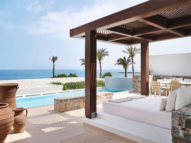 Amirandes Exclusive Resort 5* - luxusné vily s vlastným bazénom