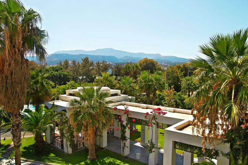 Creta Palace 5* - záhrada