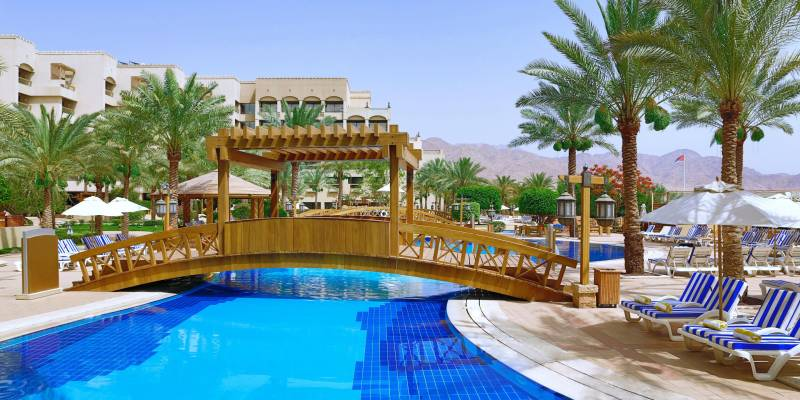 Intercontinental Aqaba 5* - bazén