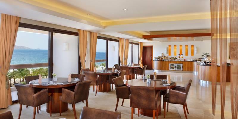 Intercontinental Aqaba 5* - reštaurácia