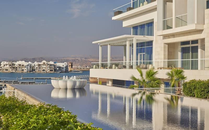 Hyatt Regency Aqaba Ayla Resort 5* - bazén