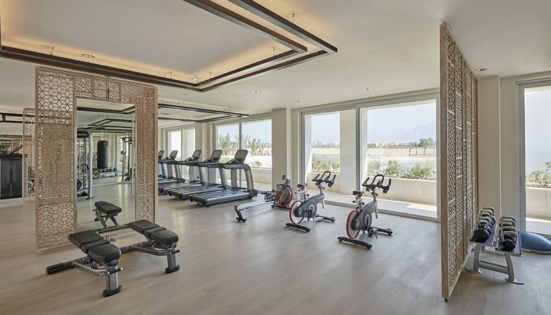 Hyatt Regency Aqaba Ayla Resort 5* - fitnescentrum
