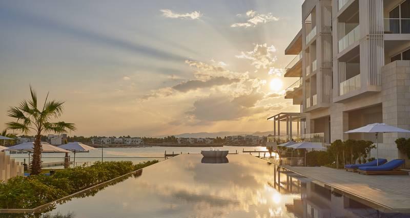 Hyatt Regency Aqaba Ayla Resort 5* - západ slnka