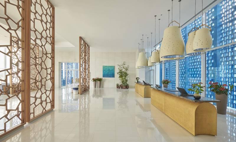 Hyatt Regency Aqaba Ayla Resort 5* - recepcia
