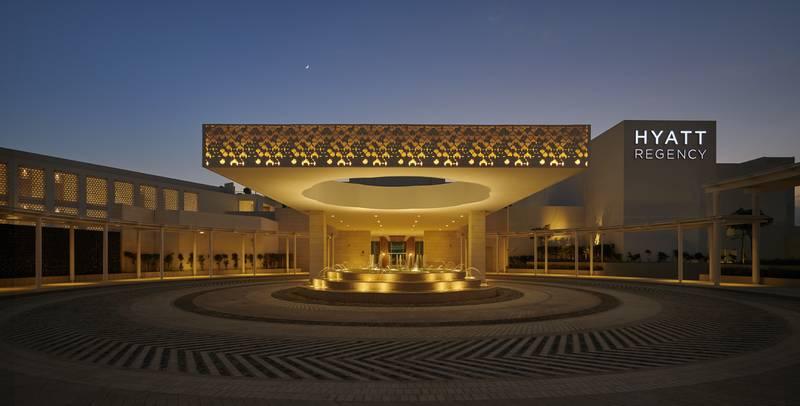 Hyatt Regency Aqaba Ayla Resort 5* - vchod do hotela
