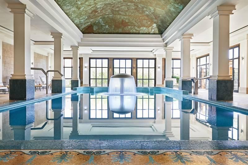 Kos Imperial 5* - vnútorný bazén