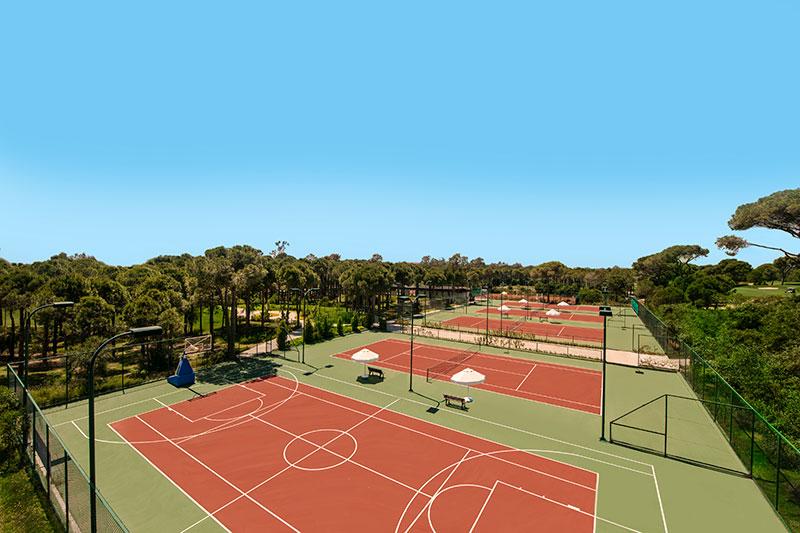 Maxx Royal Belek Golf & SPA 5* - tenisové kurty