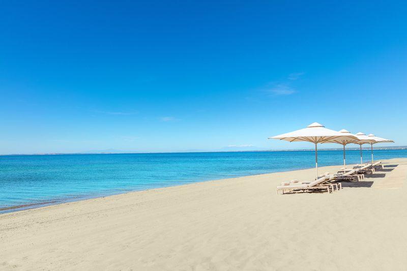 Ikos Oceania 5* - pláž