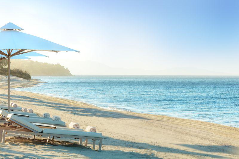 Ikos Olivia 5* - pláž