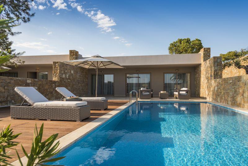 Ikos Olivia 5* - bungalovy s privátnym bazénom