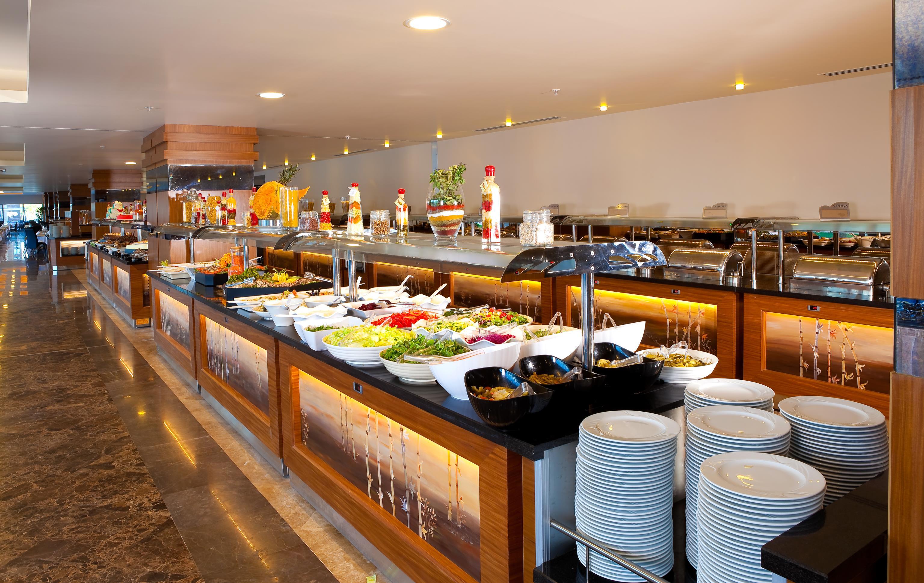 Venosa Beach Resort & SPA 5* - reštaurácia