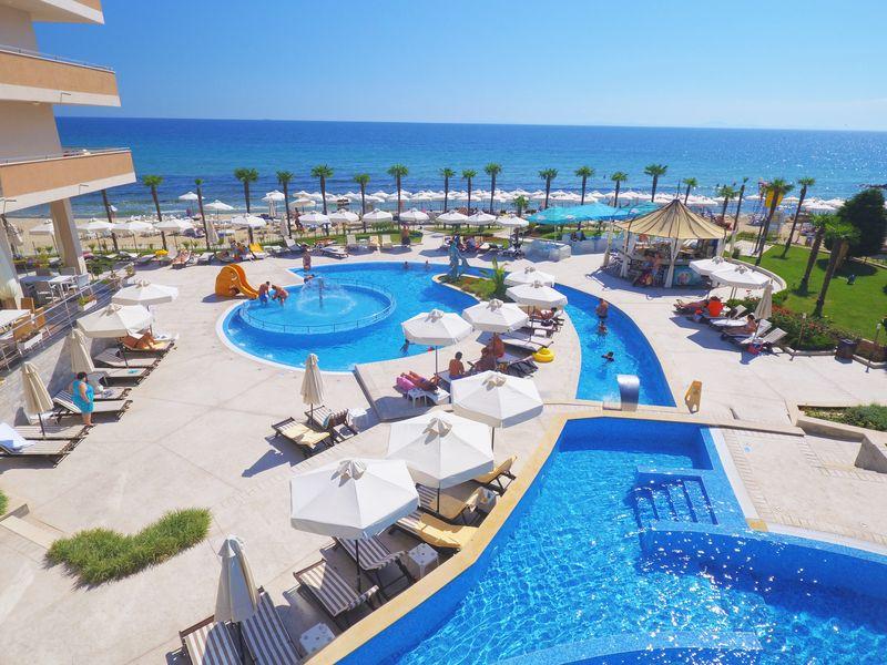 Zornitza Sands 4* - bazén