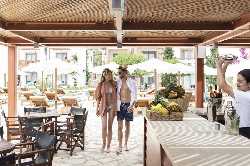 Blue Domes Resort & SPA 5* - reštaurácia