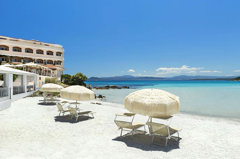 Hotel Gabbiano Azzurro 4* - pláž