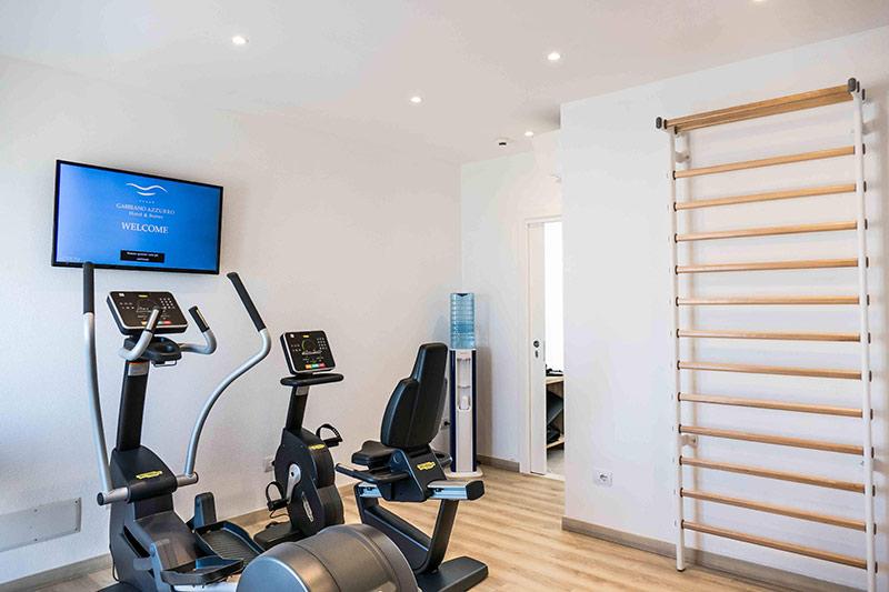 Hotel Gabbiano Azzurro 4* - fitnescentrum
