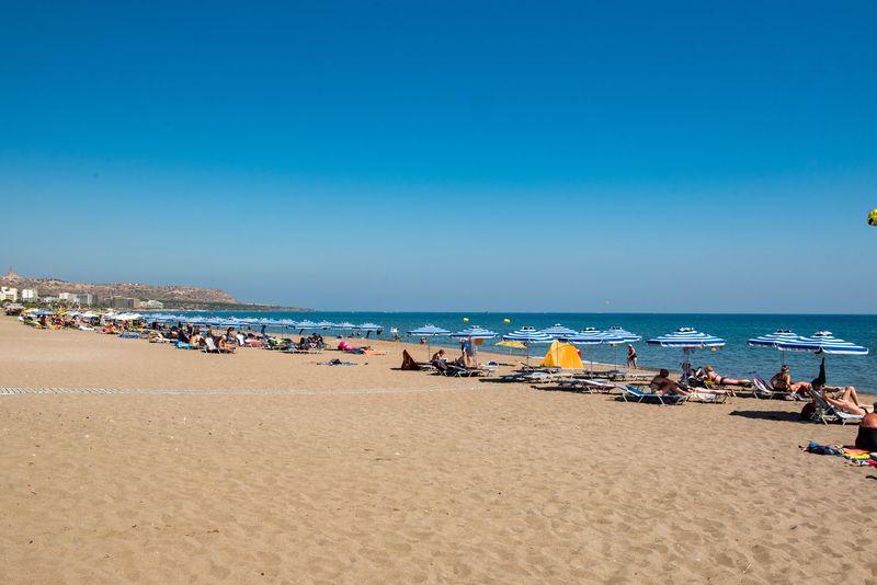 Evita Bay 4* - pláž