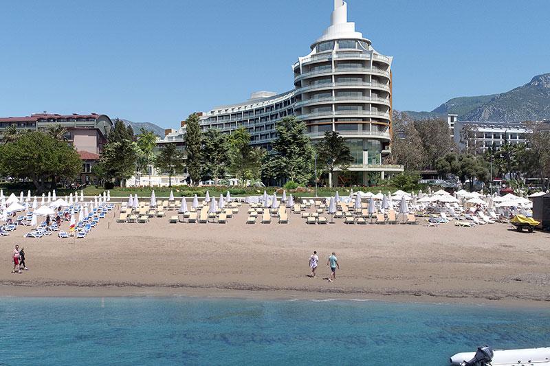 Seaden Quality Resort & SPA 5* - pláž