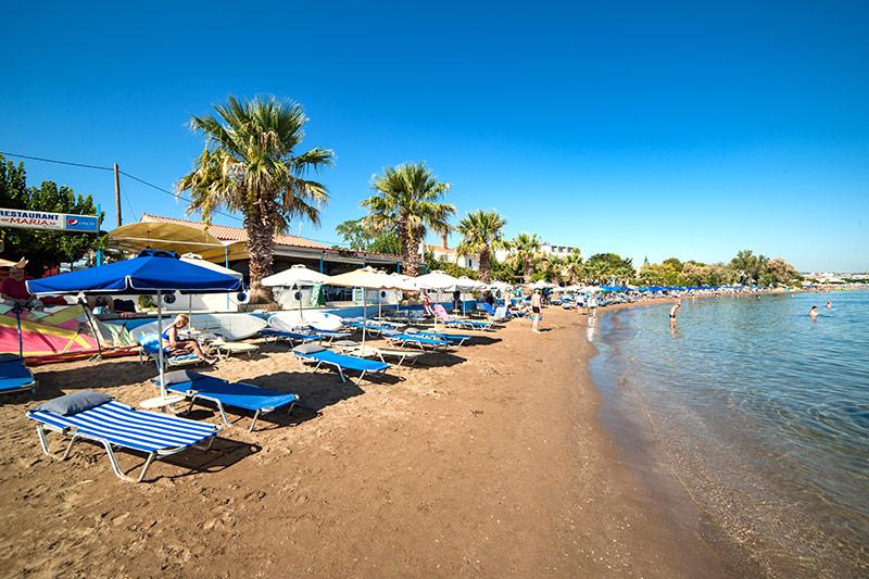 Evita Mare 4* - pláž
