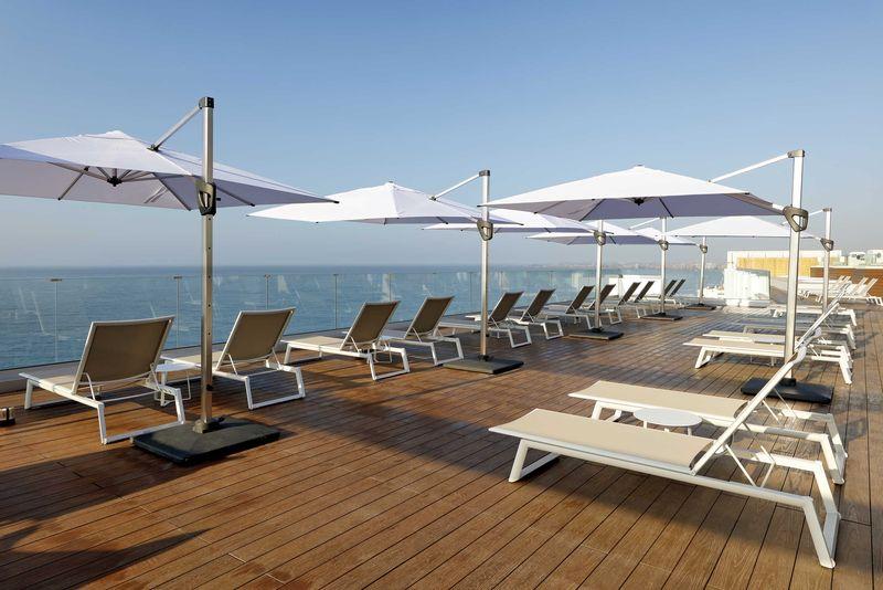 Palladium Hotel Costa del Sol 4* - terasa na streche