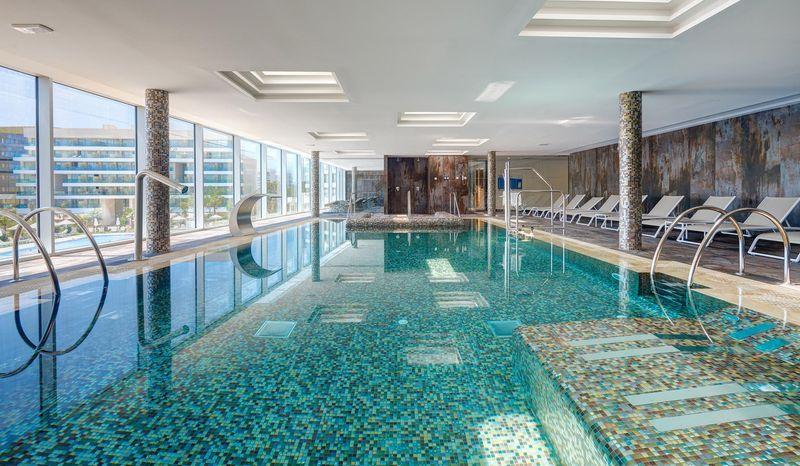 Hipotels Playa de Palma Palace 5* - vnútorný  bazén