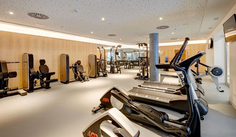 Hipotels Gran Playa de Palma 4* - fitnescentrum