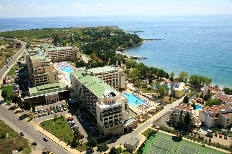 Sol Nessebar Bay & Mare Resort - areál