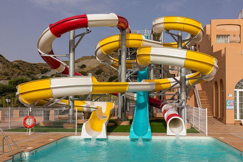 Mojacar Playa Aquapark 4* - tobogany