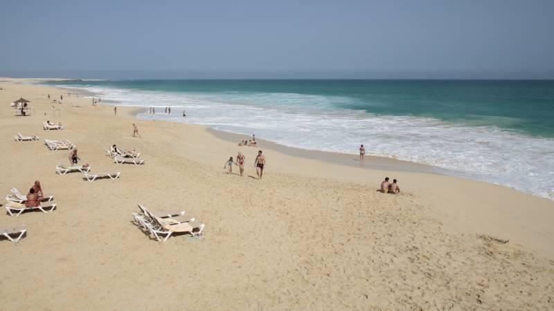 Riu Touareg 5* - pláž