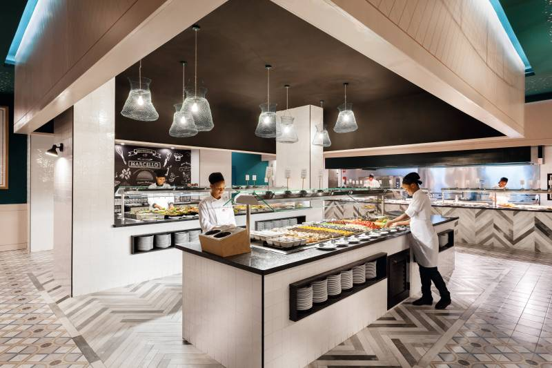 Riu Touareg 5* - reštaurácia