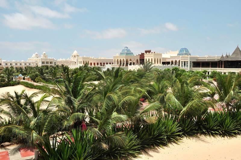 Riu Karamboa 5* - záhrada