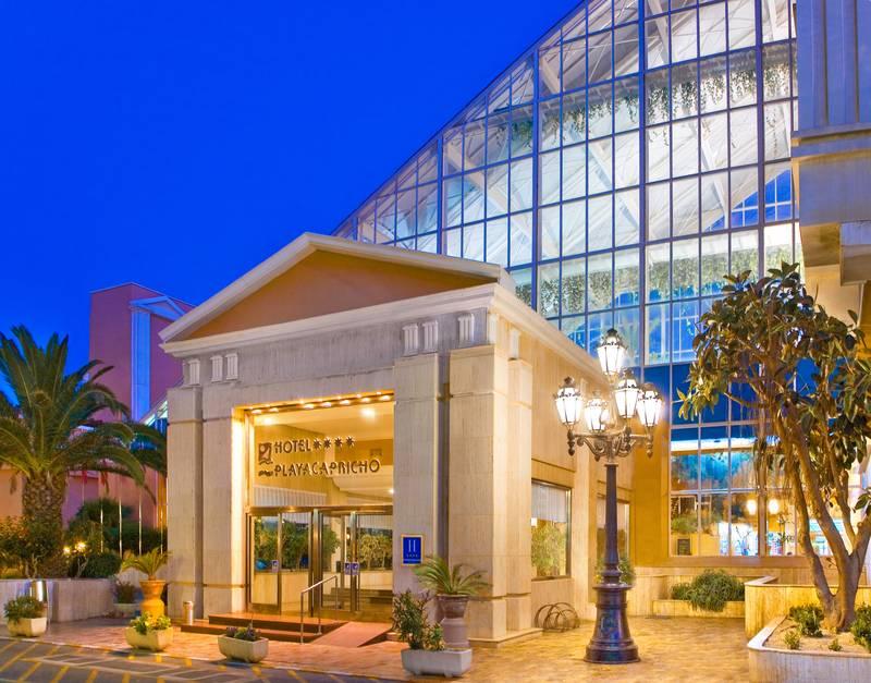 Playa Capricho 4* - vchod do hotela