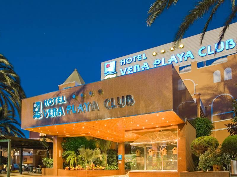 Vera Playa Club Hotel 4* - vchod do hotela