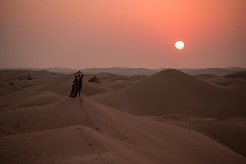 Prenocovanie na púšti