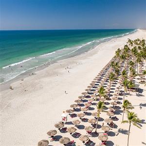 Salalah Rotana Resort 5* - unikátna pláž